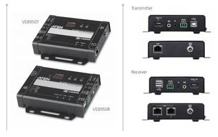 New VE8950 4K HDMI Over IP Extender Supports Web GUI for Device Management