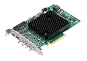 Rapixo CXP Series Frame Grabbers Now Support Data Rates up to 12.5 Gbps