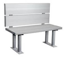 ADA benches from A Plus Warehouse are now Made from Aluminum