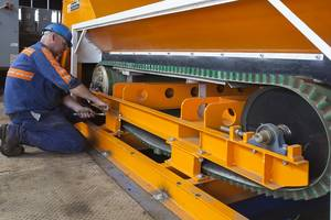 RevX-E Eddy Current Separator from Eriez® is Designed for Separating Nonferrous Metals