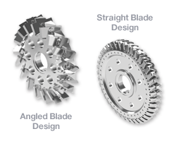 BKG® HiCut™ Cutter Hub Now Accommodates both Angled and Straight Blades