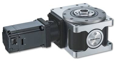 New RU Series Indexing Tables Feature RollerDrive Zero-Backlash Gear
