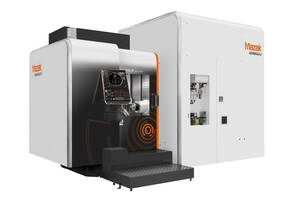 Mazak's New HCR-5000S Machining Centers are Designed for Heavy-Duty to High-Speed Cutting Applications