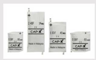 CAP-XX's New 3V Thin Prismatic Supercapacitors Eliminate the Need of LDO Voltage Regulator