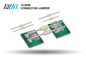 New 10-9296 Series BTB Pin Jumpers Eliminate Housing Tolerance Stack-Up Issues