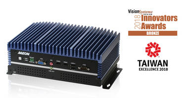 AAEON Honored by Vision Systems Design 2018 Innovators Awards Program