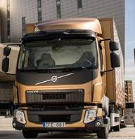 New Volvo FL Electric Trucks are Driven by 185 kW Electric Motor