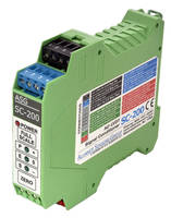 New SC-200 LVDT Signal Conditioner Features Cyber Security Tamper Prevention Option