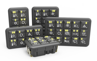Grayhill's Latest CANbus Keypads and MMI Controllers are Suitable for Mining Equipment Controls