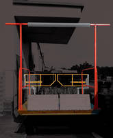 Mezzanine's New Dock-Lift Safety Gate Automatically Closes and Locks when Lift Elevates