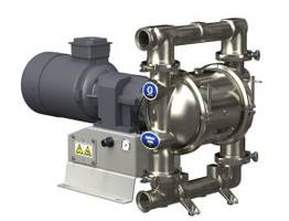 Graco's New Husky and SaniForce 2150e Pumps are Suitable for Handling Slurries