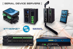 Mencom's Latest Serial Device Servers Provide Direct Accessibility to Industrial Devices