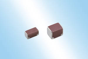 New CN Series Multilayer Ceramic Chip Capacitors are Designed to Withstand Stress from Board Flexure
