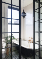 Bendheim's Restoration Glass® Adds Chic Vintage Character To Brooklyn Residence