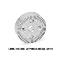 New GN 187.4 Stainless Steel Locking Plates are Compliant to RoHS standards.