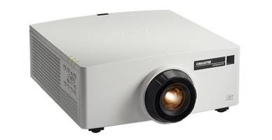 Christie Introduces GS Series Projectors with Embedded Warping and Blending Technology