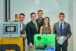 Purdue University Team Takes its T.R.A.S.H. to Germany: Engineering Students Win Trip to Hannover Messe in Xplore New Automation Competition