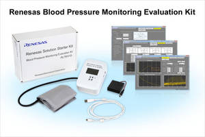 Renesass's New Blood Pressure Monitoring Evaluation Kit Comes with Graphical User Interface (GUI) Tool.