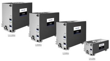 ULVAC Introduces New LS Series Dry Vacuum Pumps with Built-In Silencer