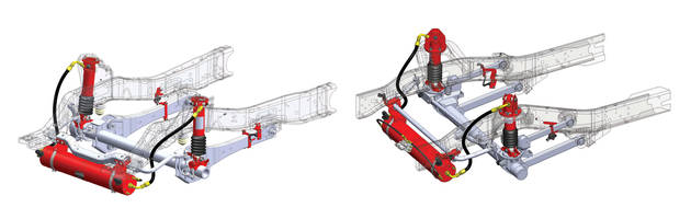 LiquidSpring Introduces Front Axle Suspension with Automatic Damping Adjustment