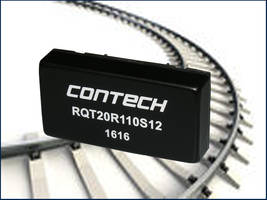 ConTech Introduces RQT Series DC/DC Converters with an Efficiency of 87%