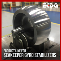 Ellwood Texas Forge Navasota LLC Launches Marine Product Line for Seakeeper Gyro Stabilizers