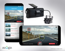 New Azuga DashCam Video Camera Solution Provides Real-Time Visibility of Driver Behavior