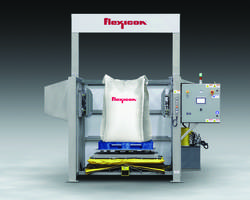 New BLOCK-BUSTER Bulk Bag Conditioner Features Laser Safety Curtain