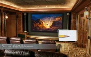 Severtson Screens Showcases New SAT-4K Acoustically-Transparent Projection Screens at 2018 InfoComm