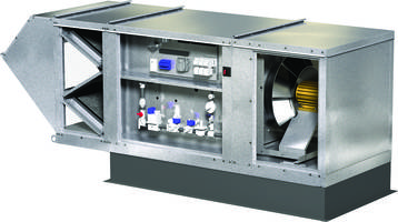 Greenhecks New Mixed Flow Supply Fans are Suitable for Low to Medium Pressure Applications