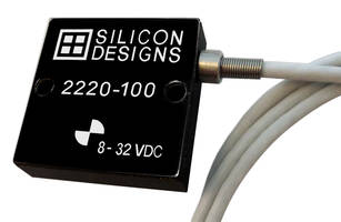 New MEMS DC Response Accelerometer is Designed for Zero-to-Medium Frequency Measurements