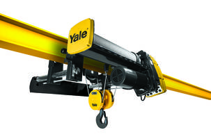 New Yale YK and Shaw-Box SK Electric Wire Rope Hoists Incorporate Advanced Safety Features