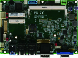 New GENE-APL6 Motherboard is Designed with Dual LVDS Support for Rugged Applications