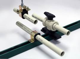 Latest Pipe Guide and Valve Support System Eliminates Stress Transfer to Plastic Pipe