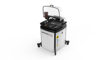 New ProtoMAX Abrasive Waterjet System is Suitable for Low-Volume Cutting Applications