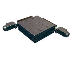 New AU200-50x50-SC Alignment Stage Features Precision Pattern of Drilled and Threaded Mounting Holes