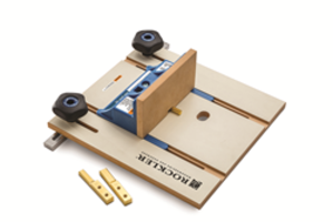 Latest Router Table Box Joint Jig Comes with Backer Sled for Smooth Workpiece Motion