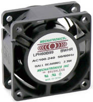 Latest LPH Series AC/EC Fans from Mechatronics Come with New Sizes and Control Options