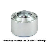 New GN 509.4 Heavy Duty Ball Transfer Units are Compliant to RoHS Standards