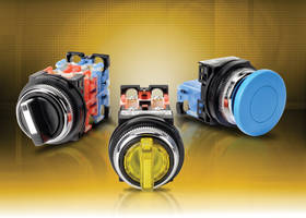 New Fuji Electric 30 mm Pilot Devices Offer Quick Snap-On Replacement of Contact Blocks