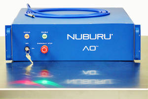 NUBURU® Honored by Laser Focus World - 2018 Innovators Awards Program
