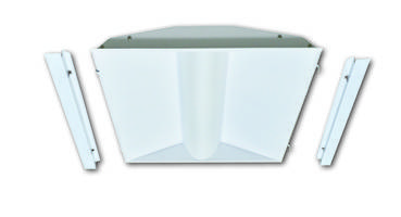 New LED Retrofit Center Basket Troffers Come with Patented Shallow Housing Retrofit Design
