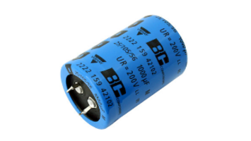 Latest Snap-in Power Aluminum Capacitors Come with Ripple Currents up to 4.42 A