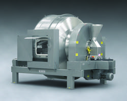 Munson Introduces 700-TH-140-SS Rotary Batch Mixer with Integral Spray Line