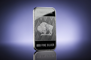 New 1 Oz Silver Buffalo Bar is Compliant to IRA Standards