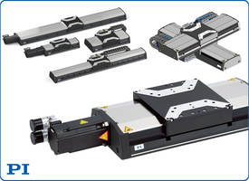 Latest High Load Linear Stages from PI Come with Improved Settling Time
