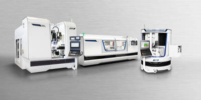 New MAGERLE MFP 51 Grinding and Machining Center Performs Grinding and Milling Tasks in Single Part Clamping