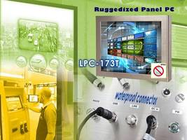 New LPC-T Series Panel PCs Feature 6-Sided Sealed Stainless Steel Chassis