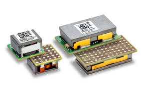 New Digital Point-of-Load DC/DC Converters are Offered in BGA or LGA Packages