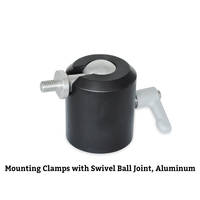 New Inch Size Mounting Clamps Come with Zinc Die Cast Adjustable Hand Lever